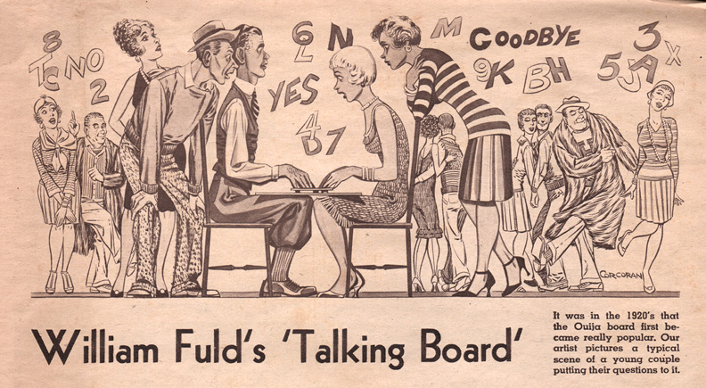 1959 Baltimore Sun article Ouija Fuld