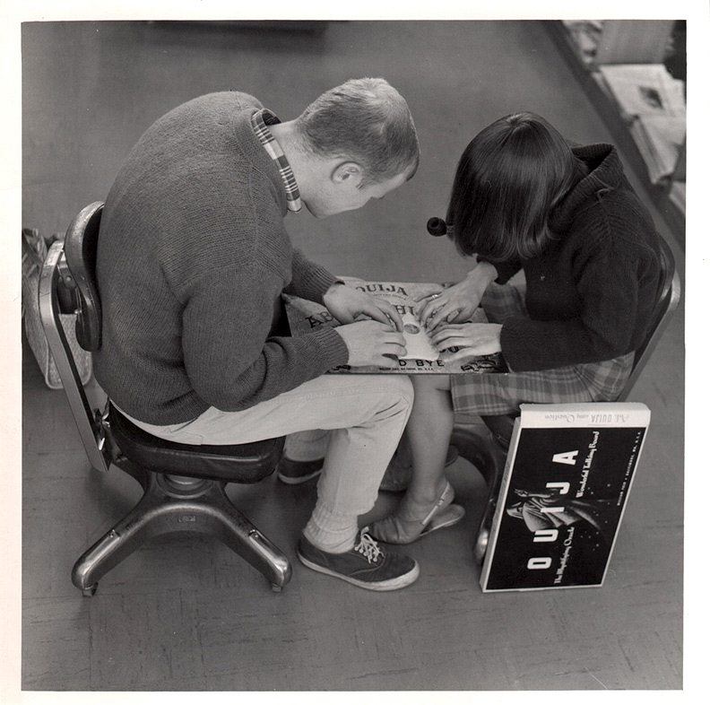 1960s students with ouija