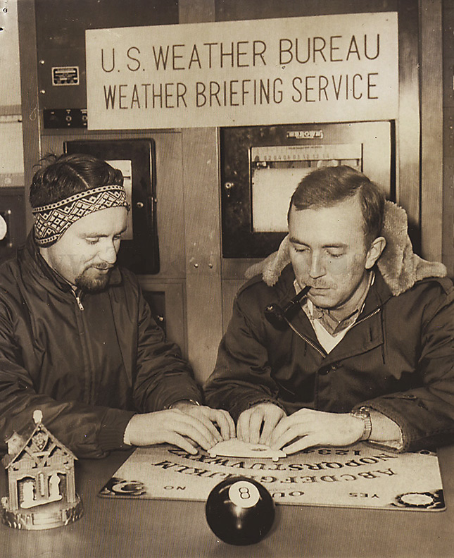 1965 US Weather Bureau and Ouija