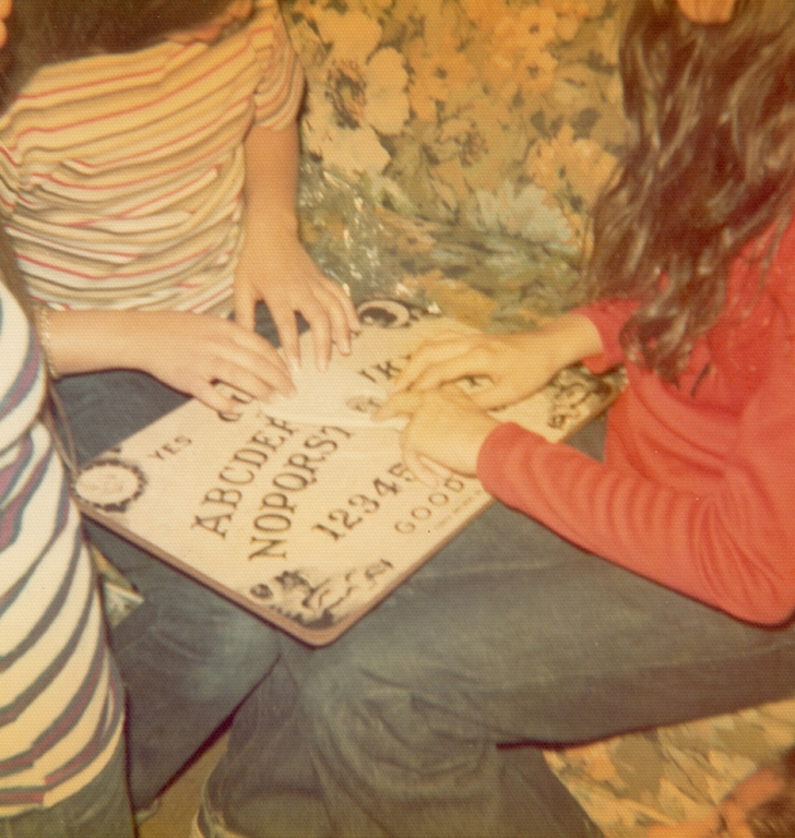 1970s Girls Playing Ouija