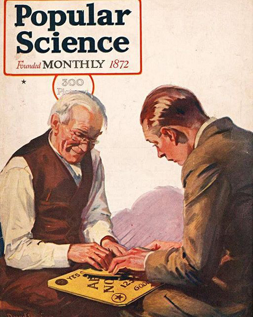 1920 Popular Science Ouija